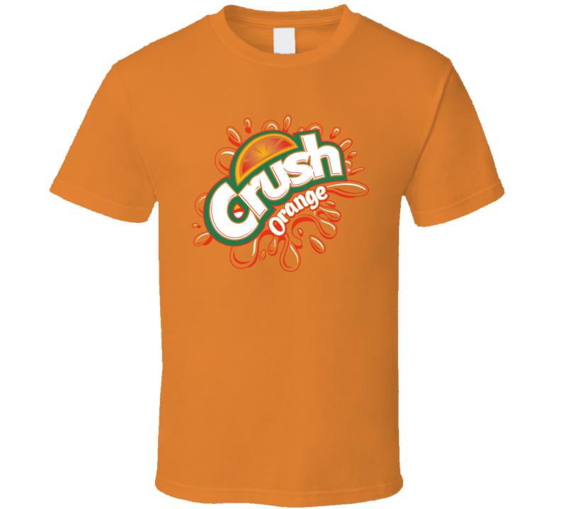 Orange Crush Pop Logo T Shirt