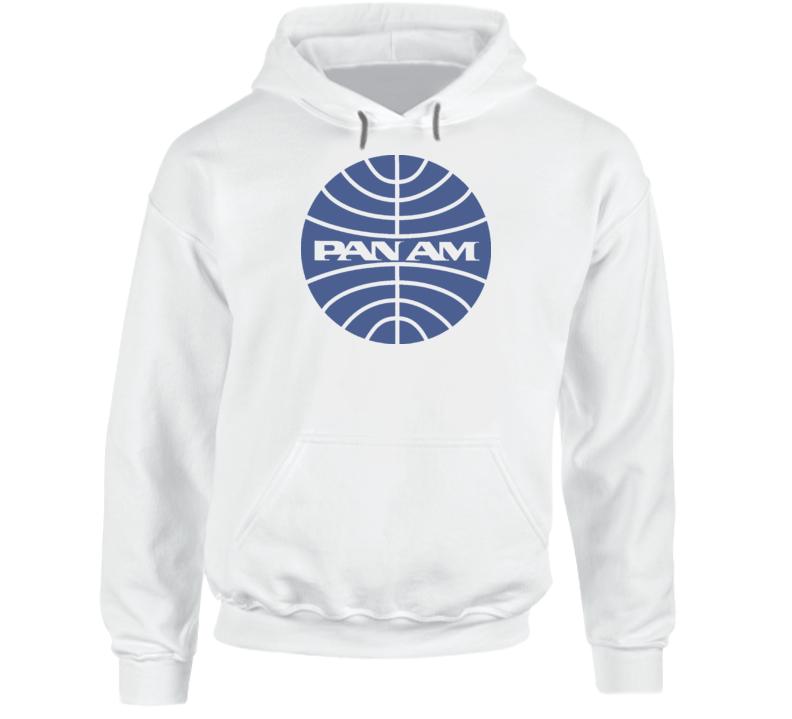 Pan Am Airline Logo Retro Hoodie
