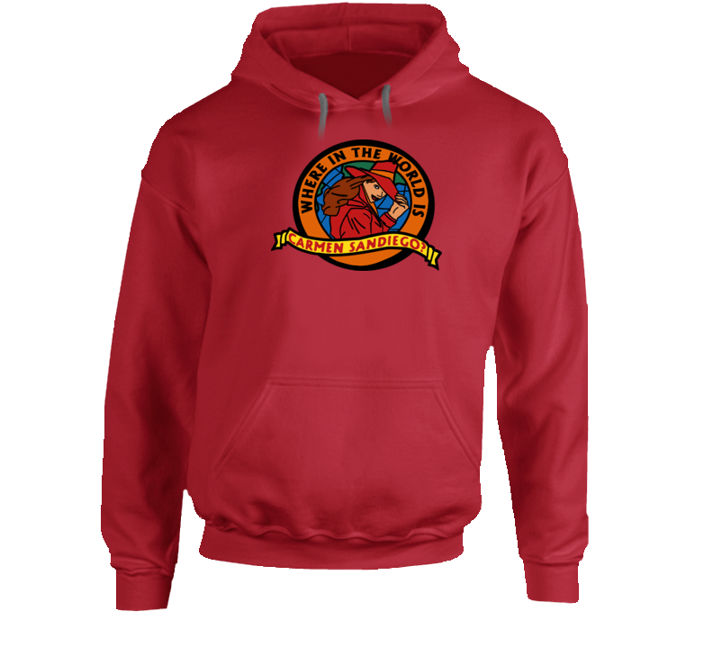 Where In The World Is Carmen San Diego Hoodie