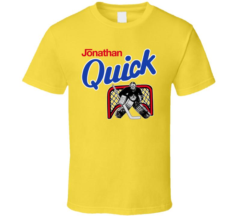 Jonathan Quick Chocolate Milk Los Angeles Hockey T Shirt