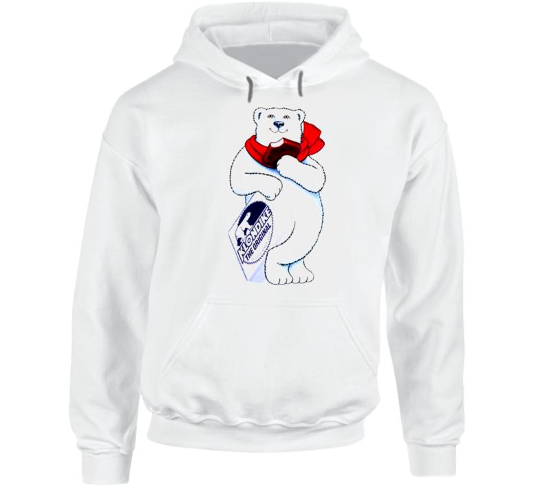Klondike Bar Bear Mascot Hoodie
