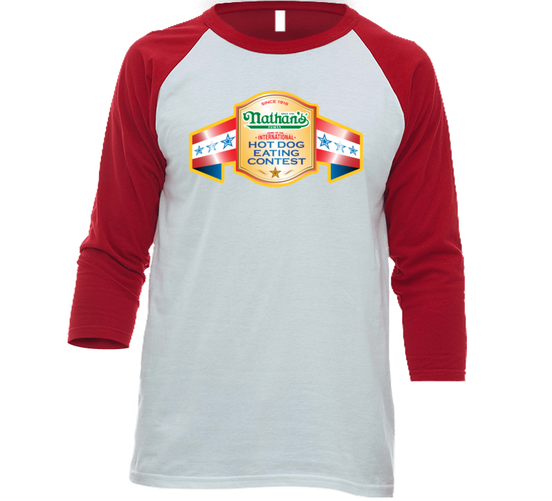 Nathan's Hot Dog Contest 4th Of July 4 T Shirt