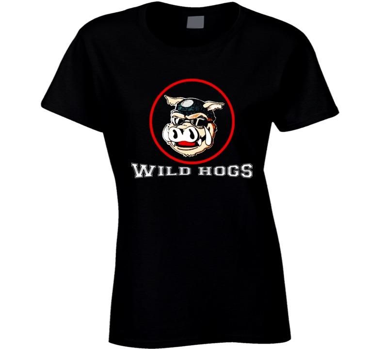 Wild Hogs Ladies T Shirt