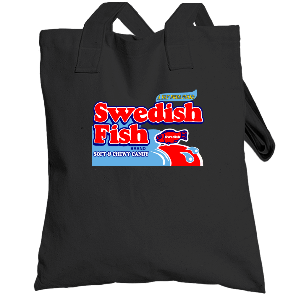Swedish Fish Soft And Chewy Candy Totebag