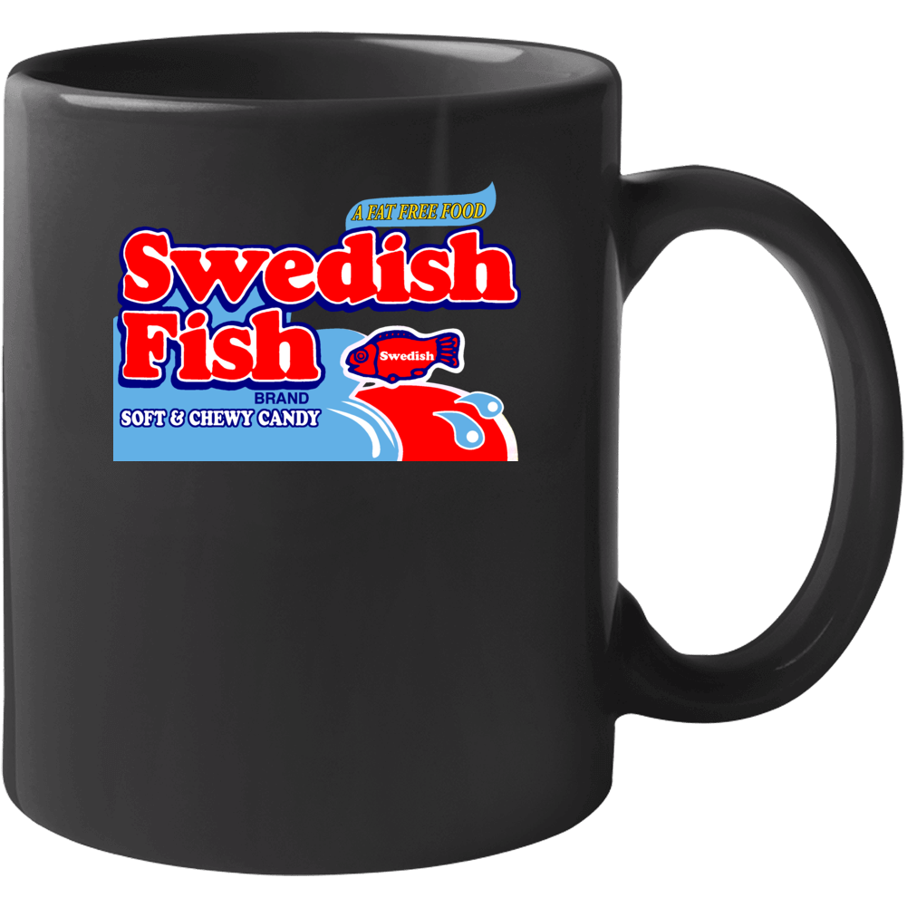 Swedish Fish Soft And Chewy Candy Mug