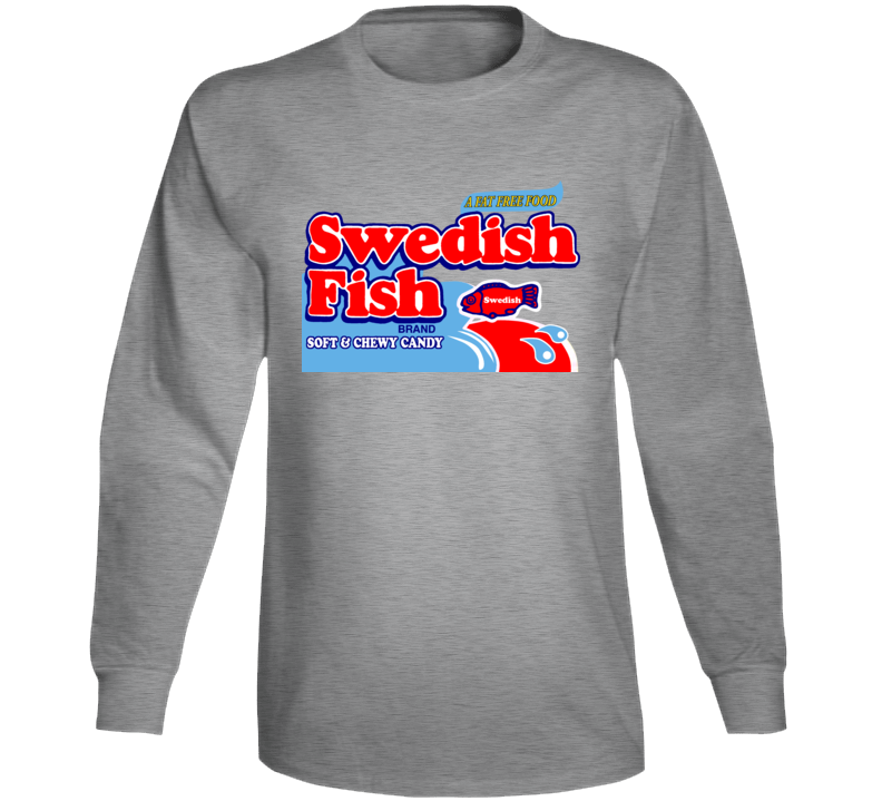 Swedish Fish Soft And Chewy Candy Long Sleeve