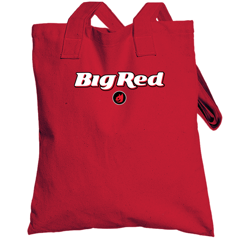 Big Red Gum Cinnamon Chewy Hot Totebag