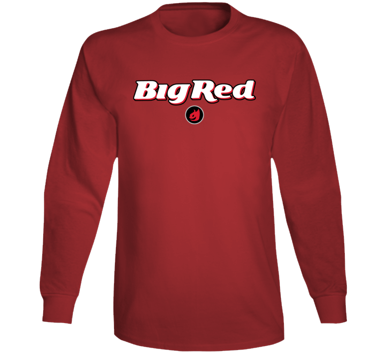 Big Red Gum Cinnamon Chewy Hot Long Sleeve