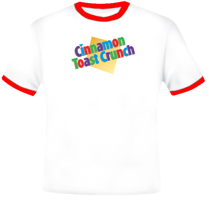 Cinnamon Toast Crunch Cereal T Shirt