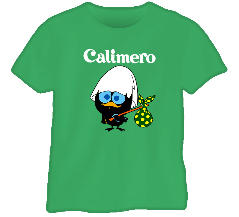 Calimero Cartoon Swedish Tv Jullovsmorgon T Shirt