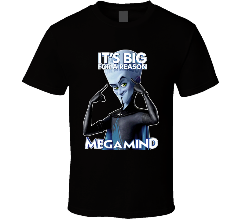 Megamind Animated Movie 2011 T Shirt