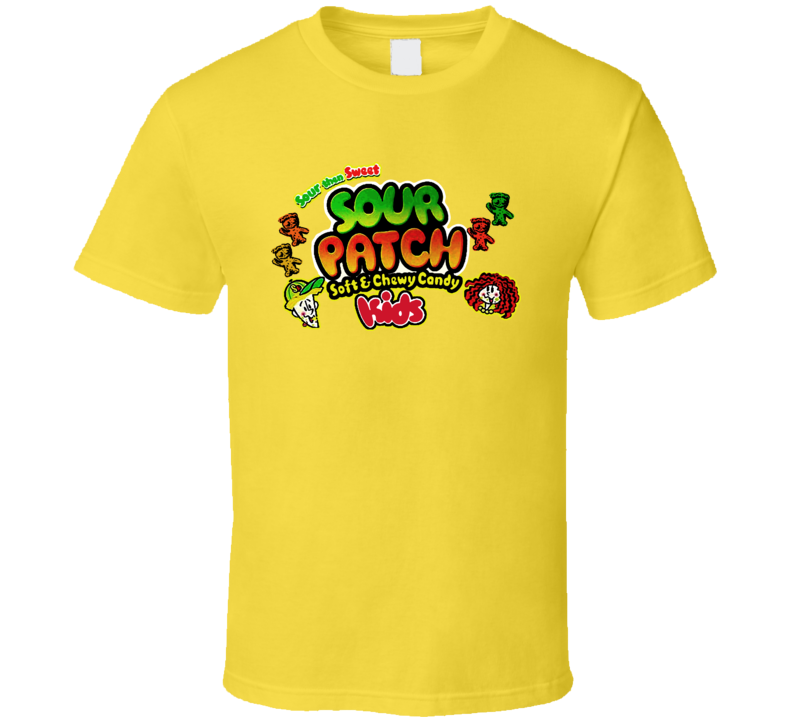 Sour Patch Kids Candy Chewy Sugar T Shirt