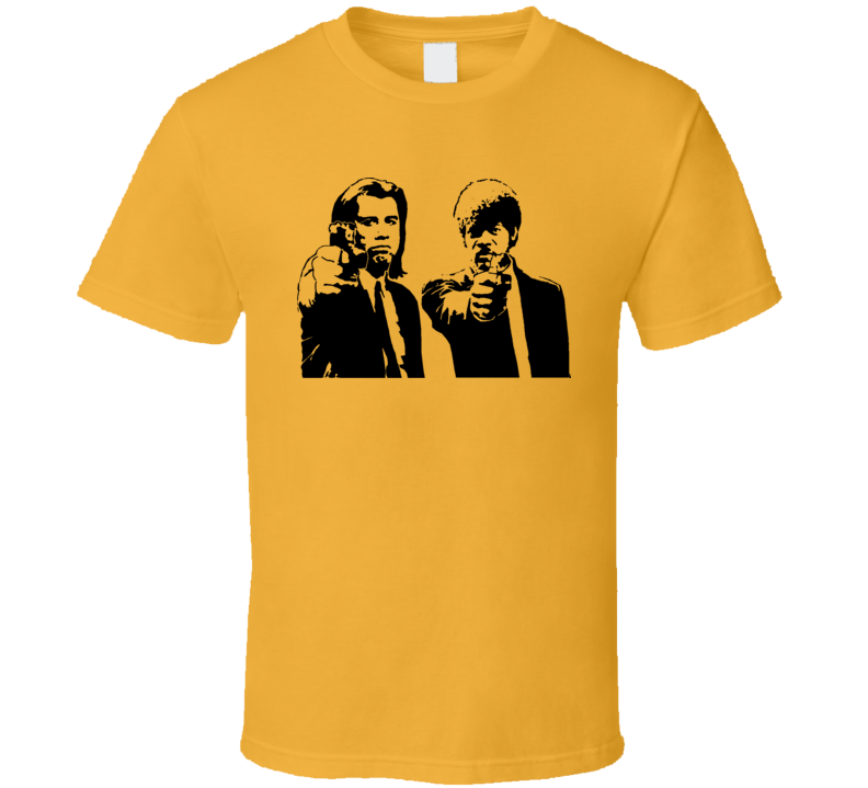 Jules And Vincent Pulp Fiction Hitman T Shirt