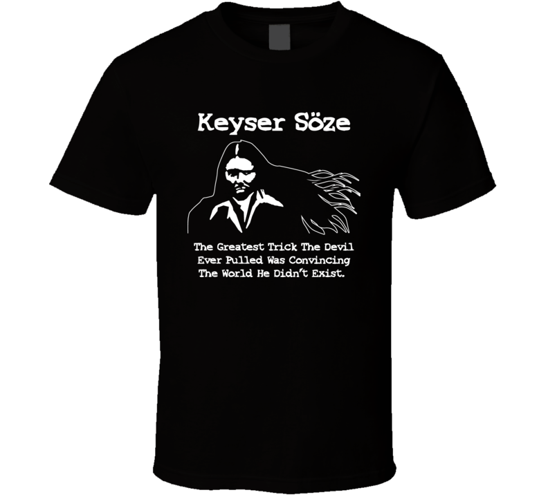 The Usual Suspects Keyser Soze Cool T Shirt