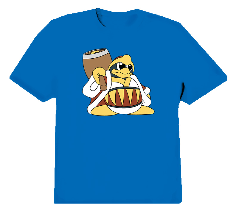 King Dedede Kirby Video Game T Shirt