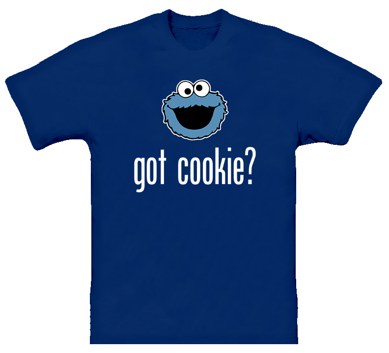 Sesame Street Cookie Monster Got Cookie T Shirt