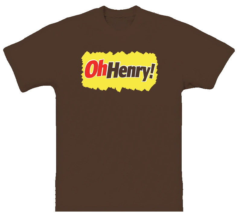 Oh Henry Candy Bar Old School Cool T Shirt