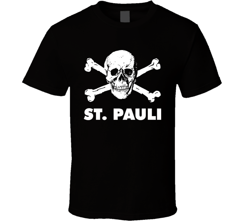 St Pauli Anti Racist T Shirt