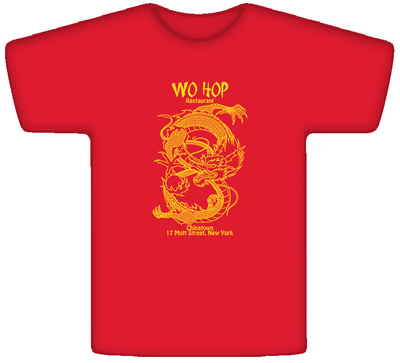 Wo Hop Chinese Restaurant Popular T Shirt