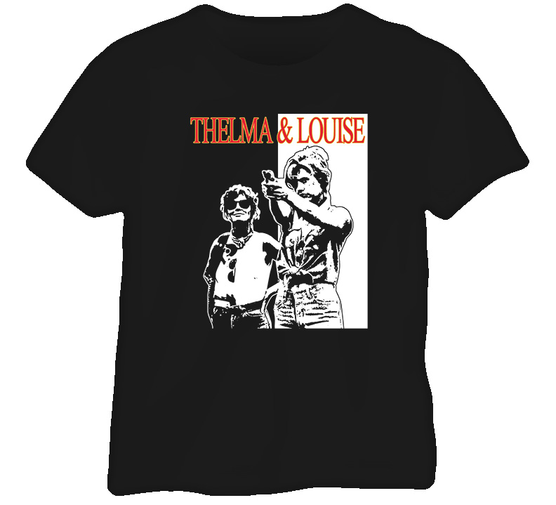 Thelma And Louise Outlaw T Shirt