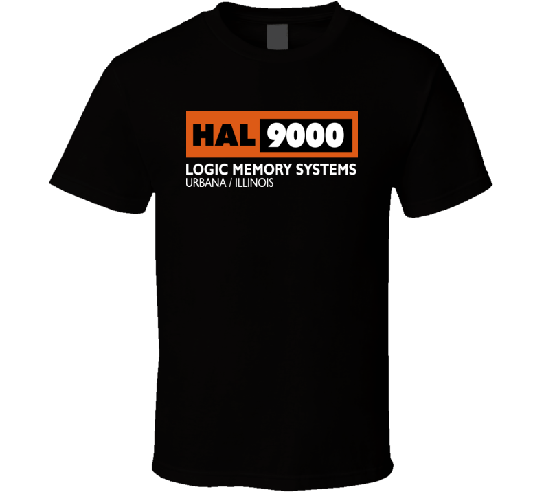 2001 A Space Odyssey HAL 9000 T Shirt
