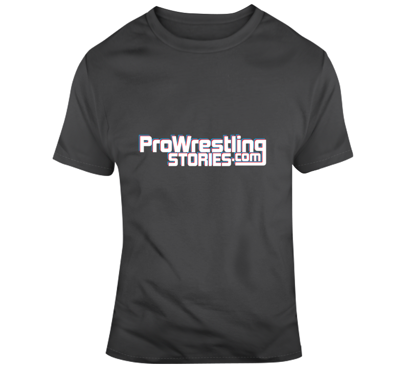 Pro Wrestling Stories Color Banner Logo T-Shirt