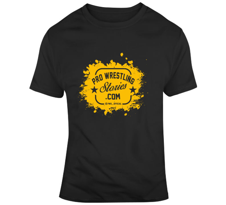 Pro Wrestling Stories Splash Logo T-Shirt