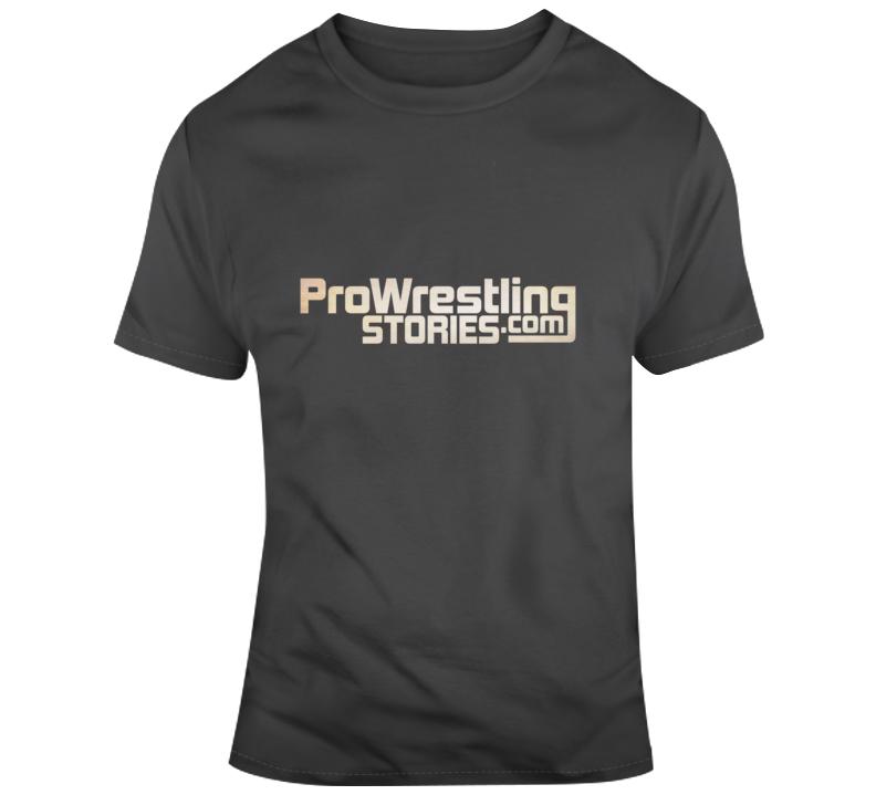 Pro Wrestling Stories Banner Logo T-Shirt