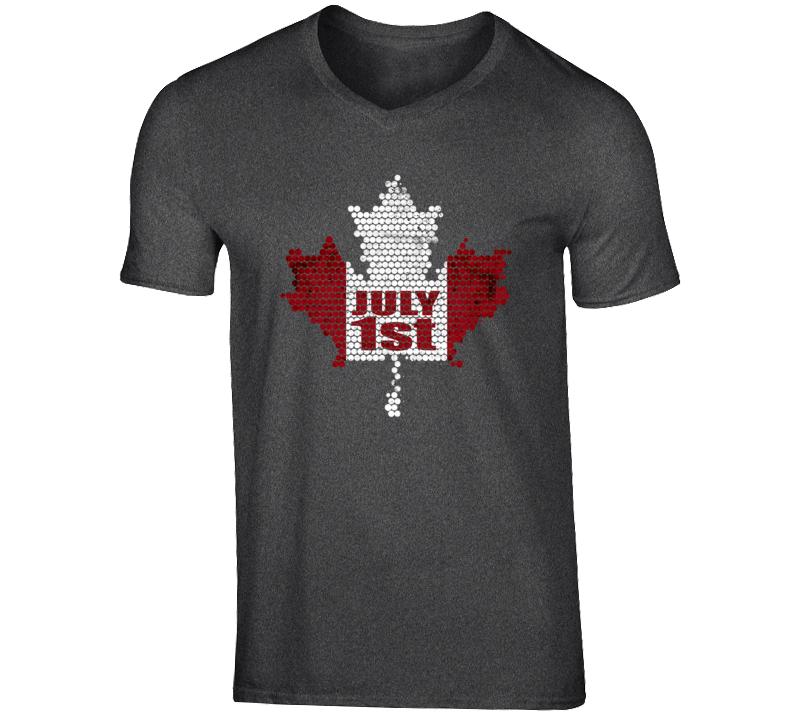 July 1st Canada Leaf Flag Shirt