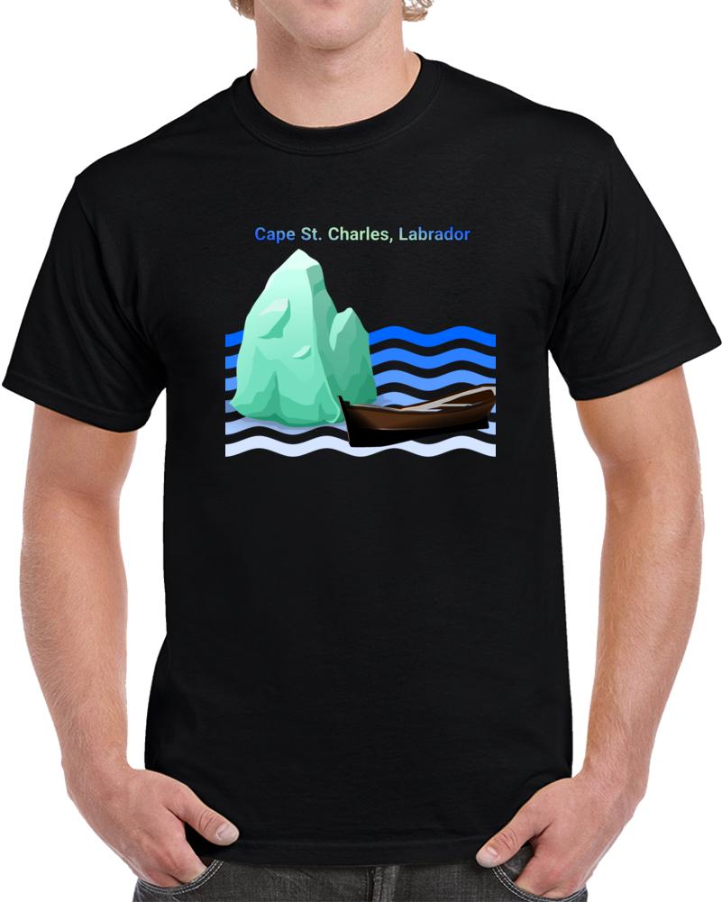 Cape Charles Labrador Iceberg Boat  T Shirt