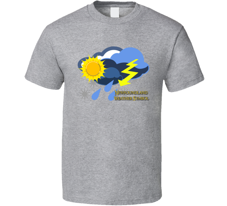 Newfoundland Weather Symbol T Shirt