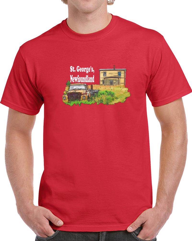 St. George's Bsg Newfoundland  T Shirt