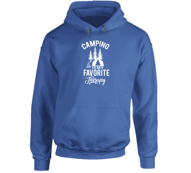Camping Favourite Favorite Therapy Hoodie