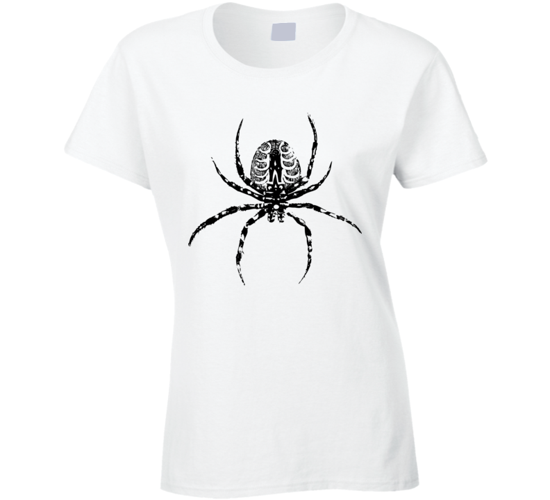 Spider Print Ladies T Shirt