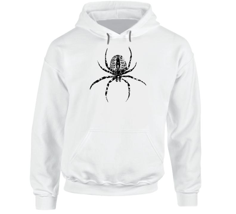 Spider Print Hoodie