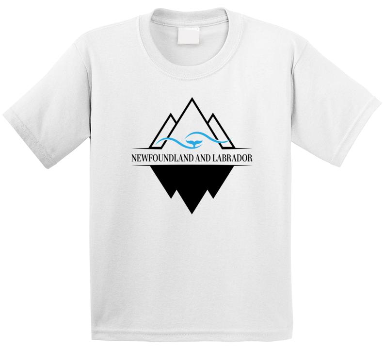 Newfoundland And Labrador Iceberg Whale Ocean T Shirt