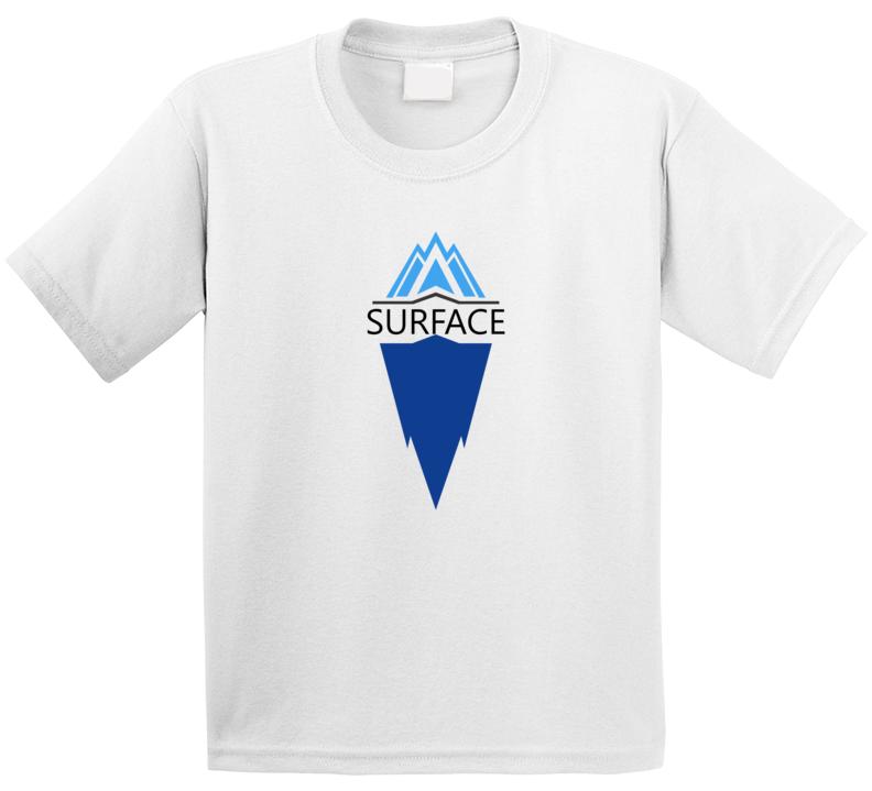 Surface Deep Mental Health Iceberg T Shirt