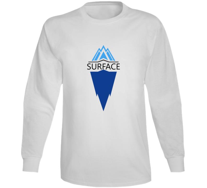 Surface Deep Mental Health Iceberg Long Sleeve T Shirt