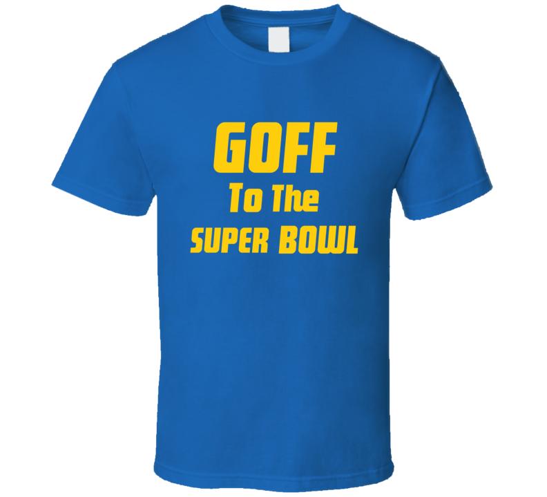 Cool  Jared Goff Los Angeles  Football Team Fan T Shirt