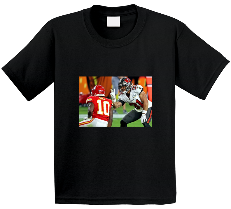 Antoine Winfield Jr Peace Sign Tyreek Hill Tampa Bay Football Team Fan T Shirt