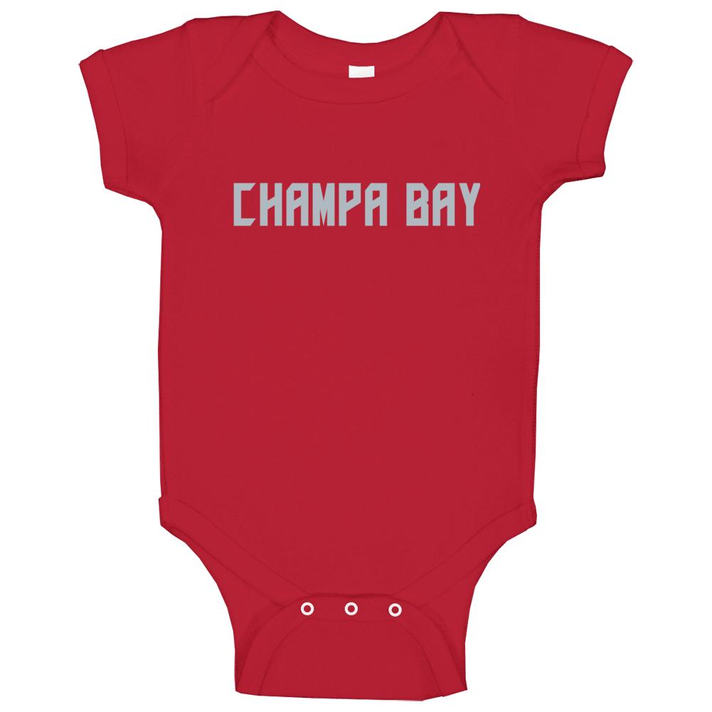 Champa Bay Football Fan Baby One Piece