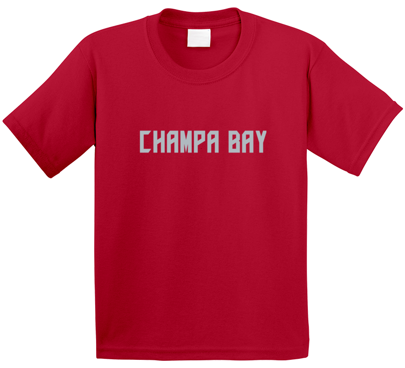 Champa Bay Football Fan T Shirt