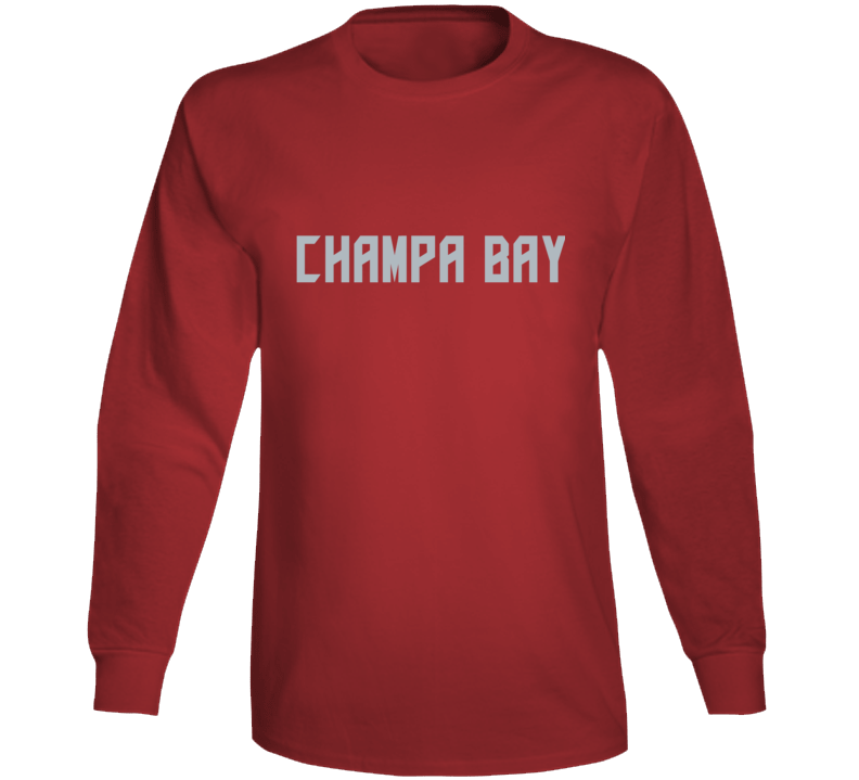 Champa Bay Football Fan Long Sleeve T Shirt