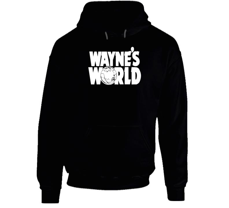 Cool Wayne's World Movie Fan Hoodie