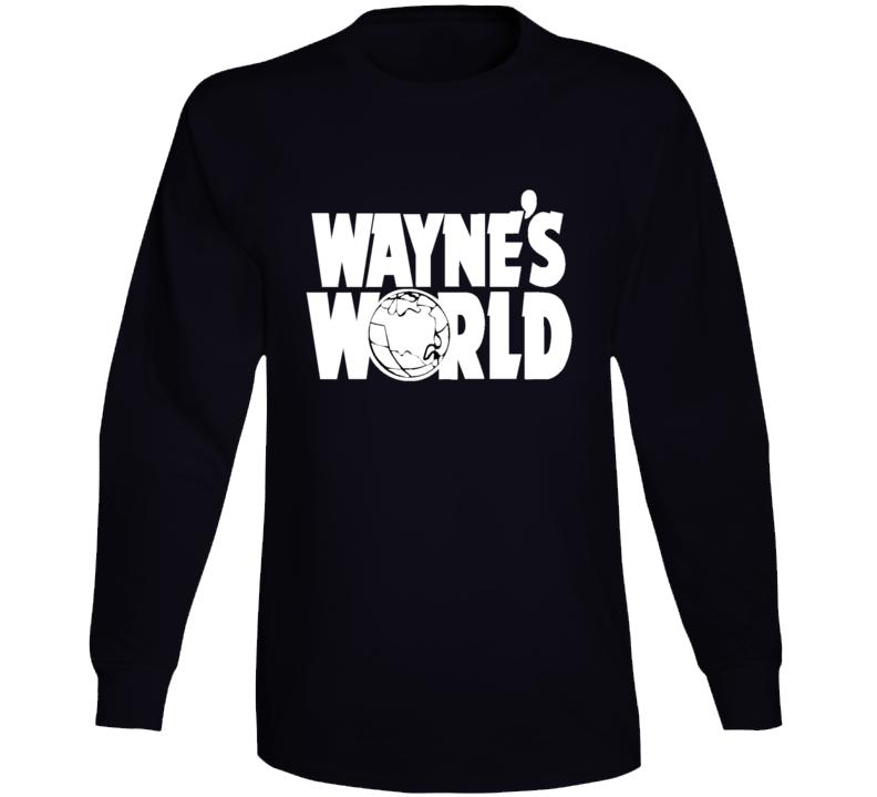 Cool Wayne's World Movie Fan Long Sleeve T Shirt
