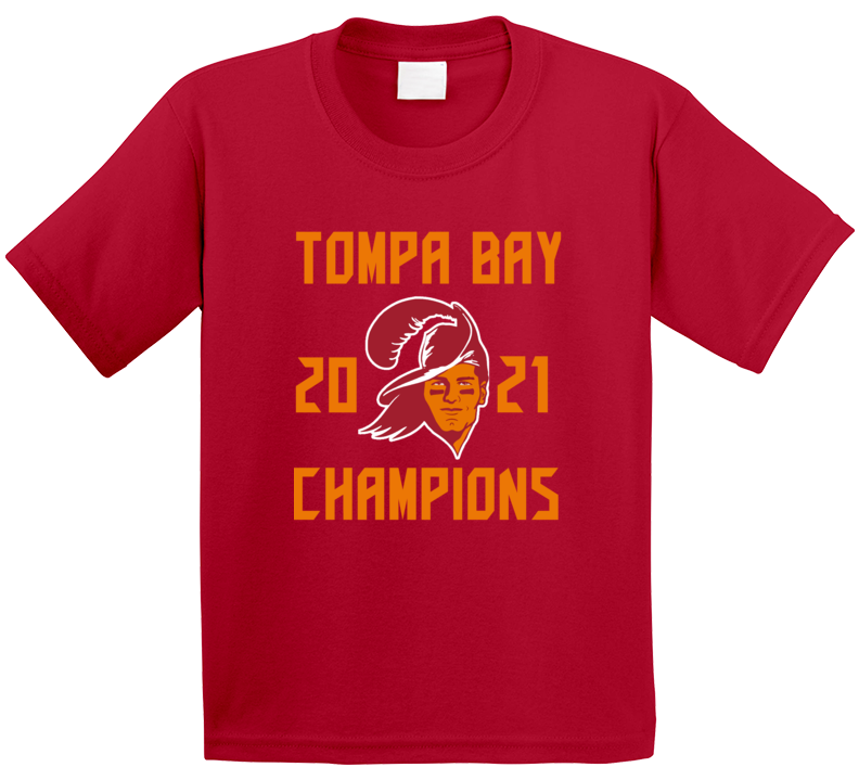 Tompa Bay 2021 Champions Super Bowl Lv Tampa Football Fan T Shirt
