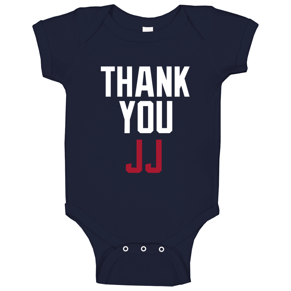Thank You Jj Watt Houston Football Team Fan Baby One Piece