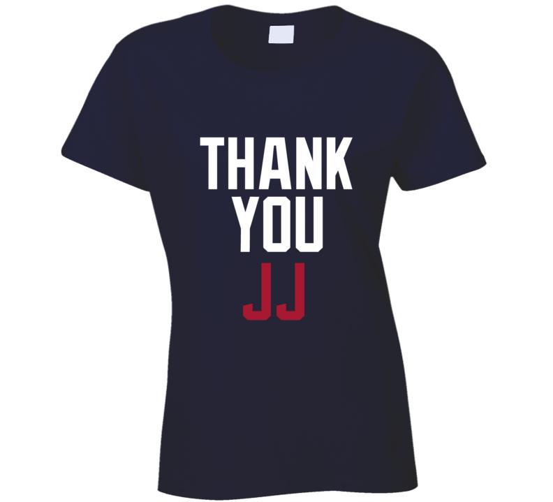 Thank You Jj Watt Houston Football Team Fan Ladies T Shirt