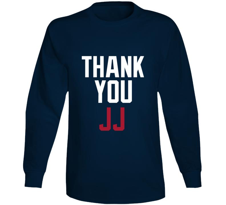 Thank You Jj Watt Houston Football Team Fan Long Sleeve T Shirt