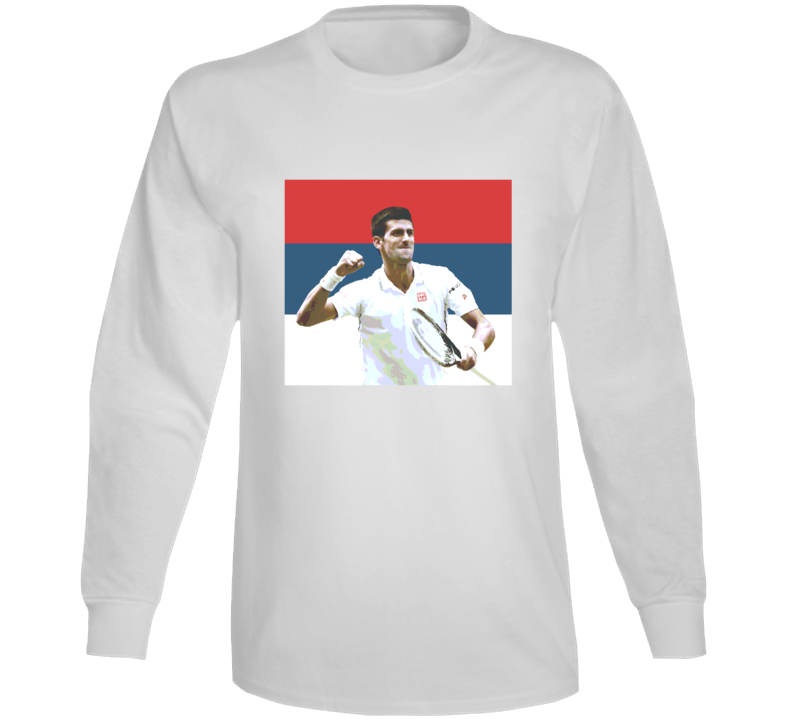 Djokovic Fan Long Sleeve T Shirt